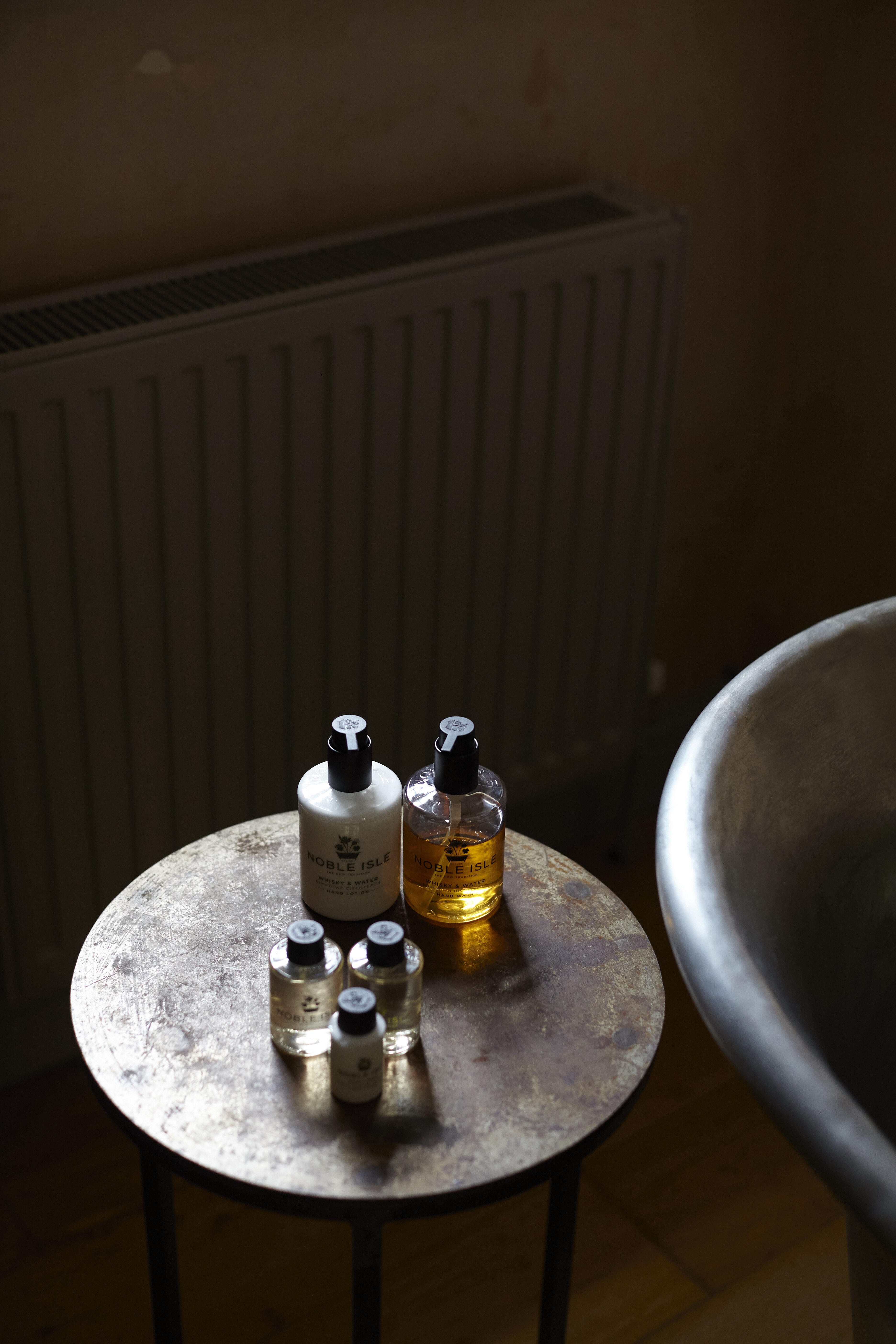 noble isle bath products at The Archangel, pub and cocktail bar with bedrooms in Frome, Somerset